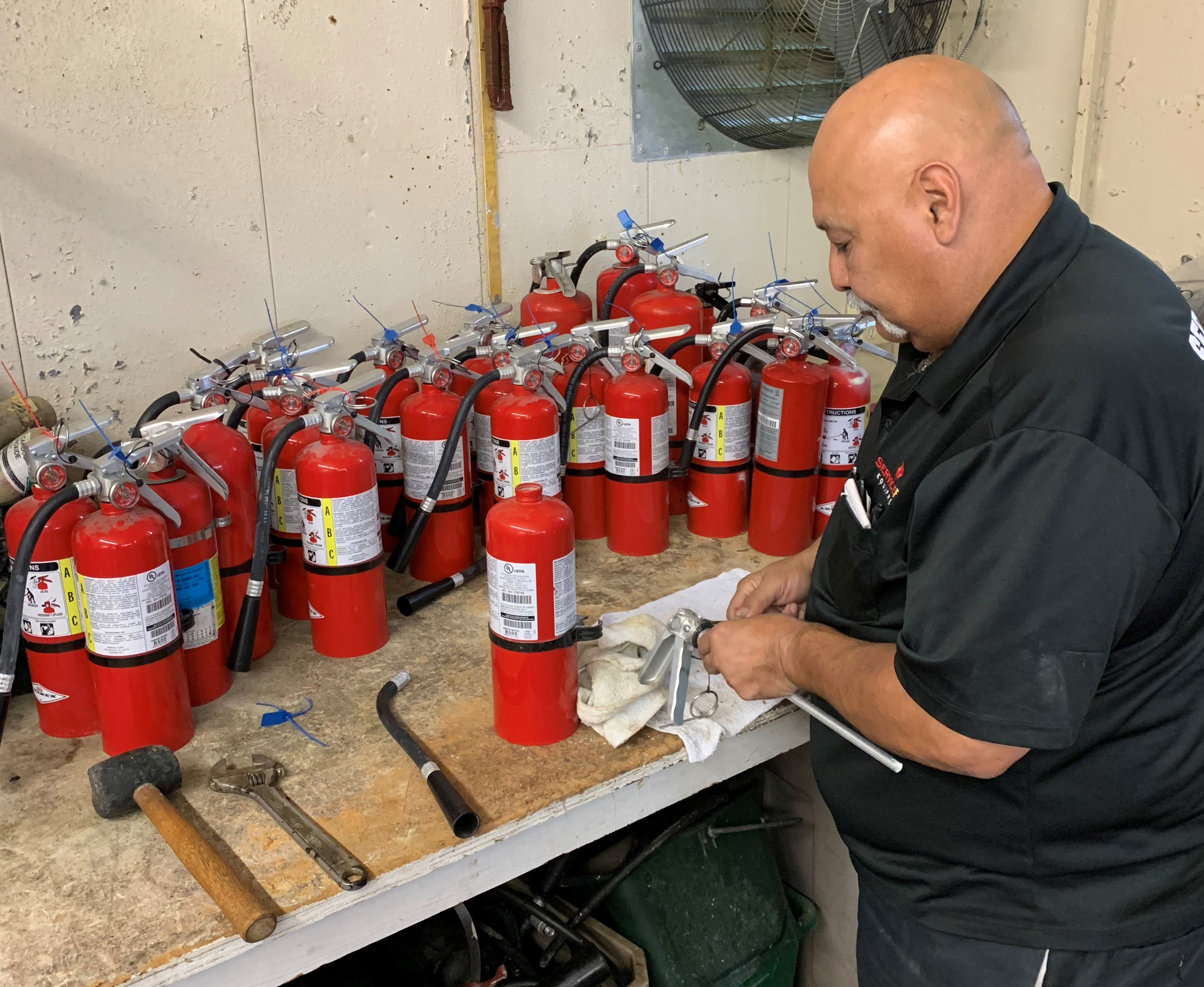 Fire Extinguisher Maintenance & Recharge